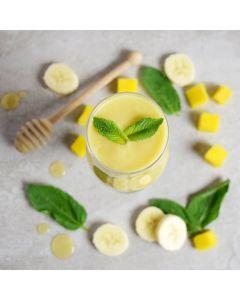 Mango Banana and Honey Sunrise Smoothie