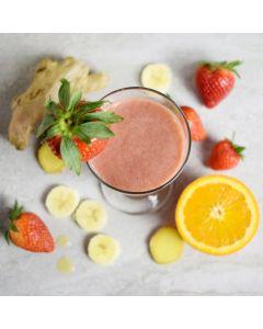 Strawberry Banana Power Smoothie