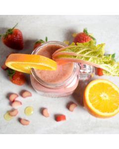 Orange & Strawberry Sunshine Smoothie