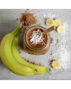 CreamyBanana Coconut Cinnamon Smoothie
