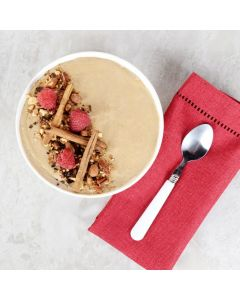 Cinnamon Pecan And Cereal Smoothie Bowl