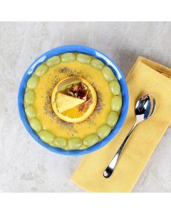 Pineapple Orange & Kiwi Smoothie Bowl