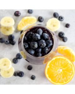 Orange Blueberry Banana Smoothie